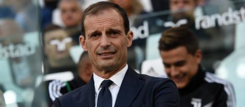 Juventus Frosinone formazioni Allegri e Baroni
