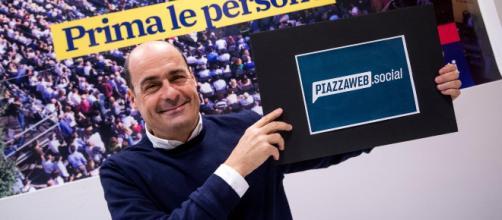 Nicola Zingaretti, candidato segretario PD.