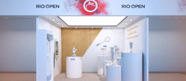 Espaço no Rio Open para homenagear Maria Esther Bueno (Foto: Divulgação/ Rio Open - http://www.rioopen.com)