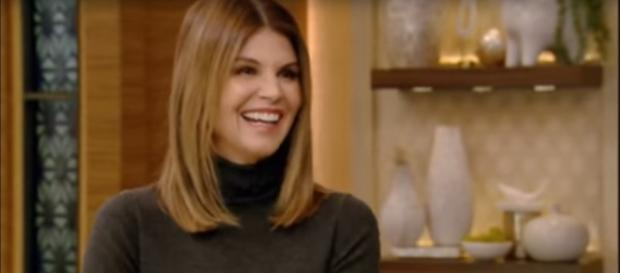 Lori Loughlin gives lots of love to When Calls the Heart and the fans on Valentine's Day. [Image source: FilltheGAP-YouTube]