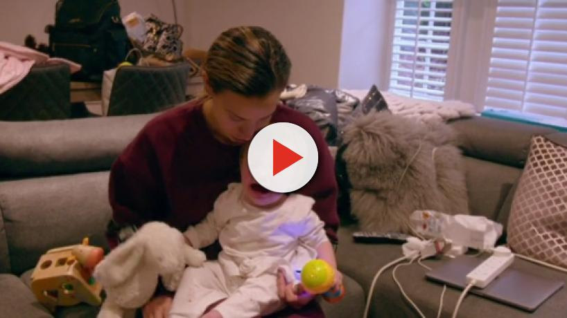 First Time Mum: Ferne McCann deals with the ups and downs of single Motherhood