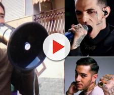 Brumotti contro quattro rapper italiani.