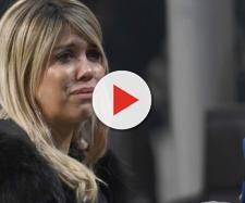 Inter, attimi di paura per Wanda Nara: un sasso contro la sua auto
