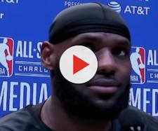 Lakers star LeBron James spoke to the media in Charlotte; ahead of the 2019 NBA All-Star Game. - [NBA / YouTube screencap]