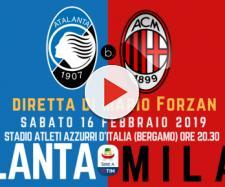 Serie A TIM: Atalanta - Milan lotta per il quarto posto.