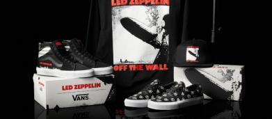 La Vans lancia una linea di scarpe ispirate al primo album dei Led Zeppelin