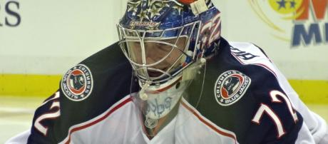 The Blue Jackets don't want Bobrovsky to walk without getting anything in return. [image source: Michael Miller- Wikimedia Commons]