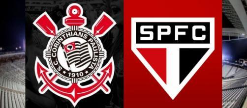 Corinthians x São Paulo ao vivo (Reprodução Site Meu Timão)