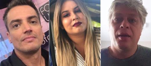 Leo Dias, Marília Mendonça e Fábio Assunção tornaram público seus vícios. (Foto: Reprodução Instagram)