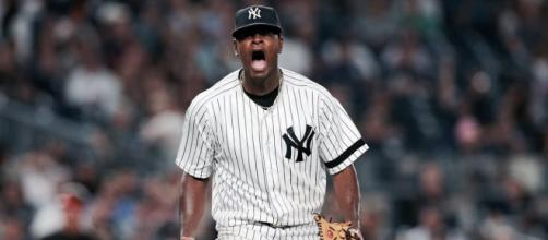 Luis Severino reaches a new deal with the NY Yankees before entering arbitration. [Image Credit] Dan Rourke - YouTube