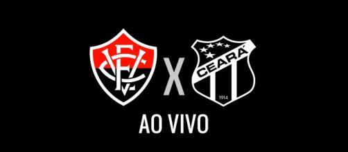 Vitória x Ceará ao vivo: transmissão da Copa do Nordeste (Montagem Diogo Marcondes)
