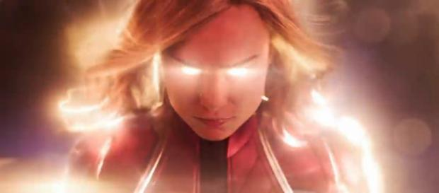 Expect 'Captain Marvel' to make over $100 million on its first weekend. Image credit - Marvel Entertainment on YouTube (screenshot)