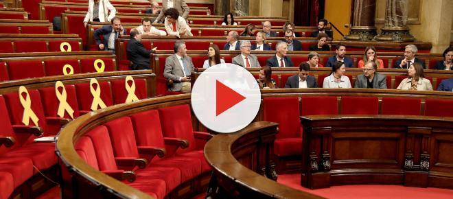 Paralizada la actividad parlamentaria por el independentismo