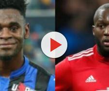 Duvan Zapata e Romelu Lukaku, possibili obiettivi di mercato dell'Inter in caso di partenza di Icardi a luglio