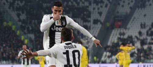 Cristiano Ronaldo e Paulo Dybala (foto: Foxsport.it)