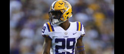 Greedy Williams will be a top selection in 2019. - [Harris Highlights / YouTube screencap]
