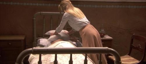 Il Segreto, trame: Antolina elimina il padre di Elsa per non farsi smascherare