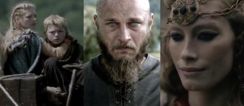 Lagertha, Bjorn, Ragnar e Aslaug (Reprodução/History Channel)