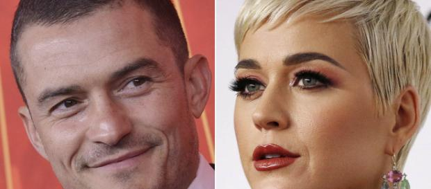 Katy Perry y Orlando Bloom se comprometieron el día de San Valentín