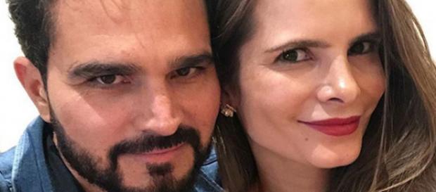 Luciano Camargo e a esposa (Foto - Instagram)