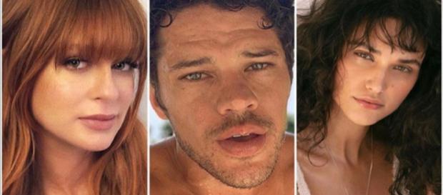 Marina Ruy Barbosa desmente caso com José Loreto. Fonte: Reprodução - https://static.otvfoco.com.br/2019/02/marina-ruy-barbosa-550x392.jpg