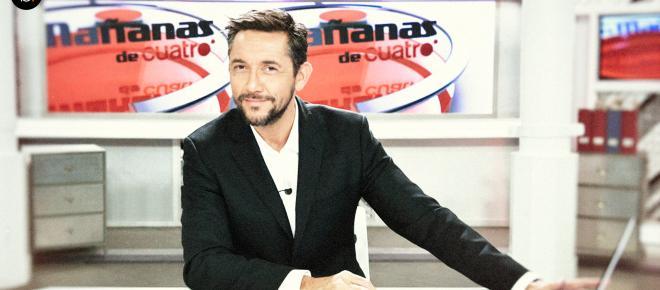 Javier Ruiz despide las Noticias Cuatro en directo