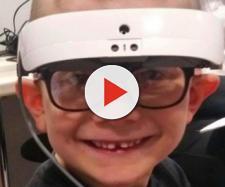 Gauthier et ses lunettes de «super-héros»