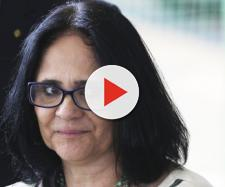 Ministra Damares Alves concede entrevista à Folha - (Foto: Valter Campanato/Agência Brasil)