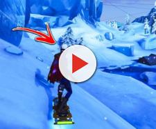 The Driftboard is coming to Fortnite Battle Royale. Credit: OrangeGuy / YouTube