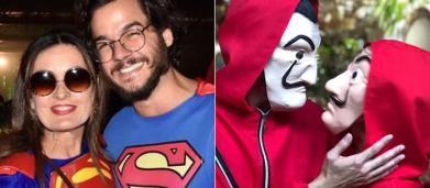 5 fantasias de Fátima Bernardes e Túlio Gadêlha para curtir o Carnaval