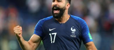 Adil Rami confie avoir fait 'un burn-out' après la Coupe du monde