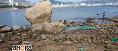 Fenómeno natural provocó retiro del mar en Acapulco