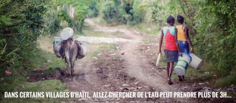 Photographie du photographe Sébastien Pouvesle lors de son dernier voyage à Haïti
