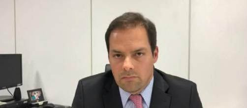 O secretário de Desburocratização, Gestão e Governo Digital do Ministério da Economia, Paulo Uebel (Reprodução/G1)