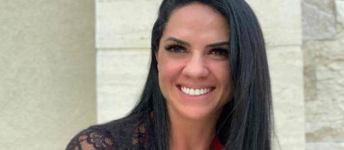 Graciele Lacerda em clique para sua rede social. (Foto: Reprodução/Instagram)