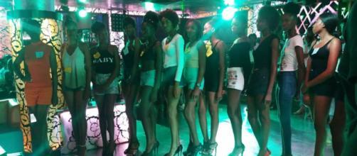 Le mannequins pour le Mboa's Fashion design (c) Laurentine Assiga