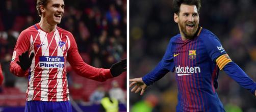 Liga. Antoine Griezmann s'invite au royaume de Lionel Messi - ouest-france.fr