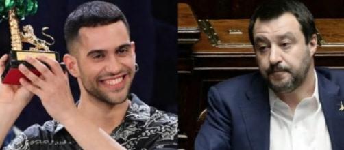 Sanremo, Mahmood rivela un sms ricevuto da Matteo Salvini: 'Goditi il tuo successo'