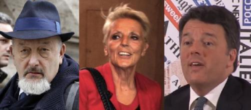 Matteo Renzi coi genitori Tiziano e Laura