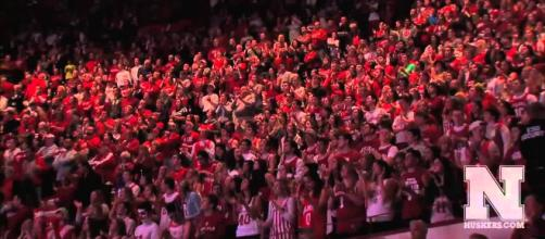 Nebraska basketball looking for the tournament [Image via Huskers.com/YouTube]