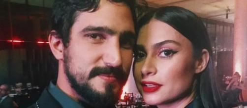 Renato e Thaila juntos. (Reprodução/Instagram/Arquivo Pessoal)