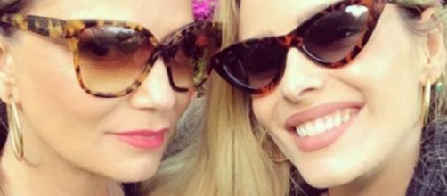Yasmin e Luiza Brunet. (Reprodução/Instagram/Yasmin Brunet)