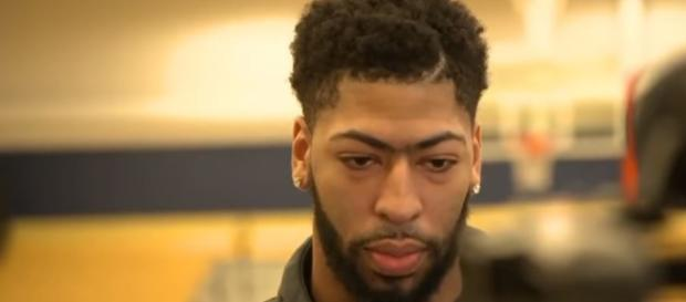 Anthony Davis played a few minutes in the All Star game - Image credit - ESPN | YouTube