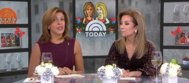 Hoda Kotb and Kathie Lee Gifford have just about seven more weeks together on Today and a forever friendship. [Image source: TODAY-YouTube]