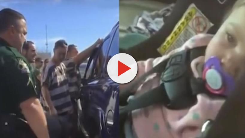 Florida prison inmates applauded for breaking into car to rescue a toddler