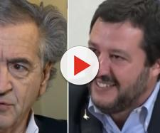 Bernard-Henri Levy attacca duramente Matteo Salvini