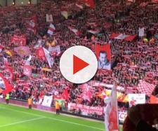La caldissima Kop di Anfield Road: grande attesa per Liverpool-Bayern