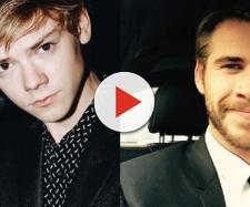 Thomas Sangster E Liam Hemsworth (Reprodução/Instagram)