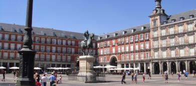 La Plaza Mayor de Madrid cumple 34 años como monumento histórico artístico