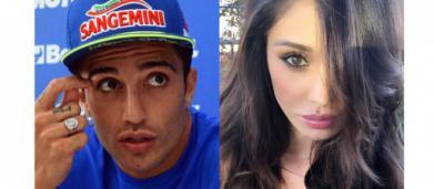 Gossip: Andrea Iannone dimentica Belen con un'altra Rodriguez, la modella Carmen